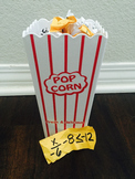 Inequalities Popcorn Math: One & Two Step Inequalities