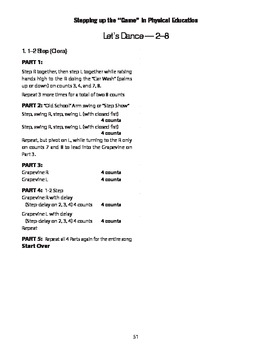 1-2 Step Line Dance for PE