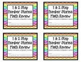 1 & 2 Step Number Stories Math Review Booklet