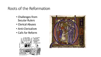 1.2 The Protestant Reformation - All Materials