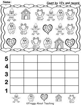 1st g. Valentine Math Activities