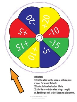 1, 2, and 3-Digit Addition and Subtraction Game