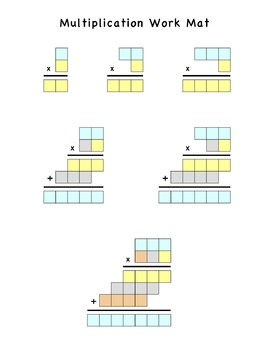 1, 2, and 3 Digit Multiplication Math Aid