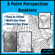 1, 2, and 3 Point Linear Perspective Booklets Bundle