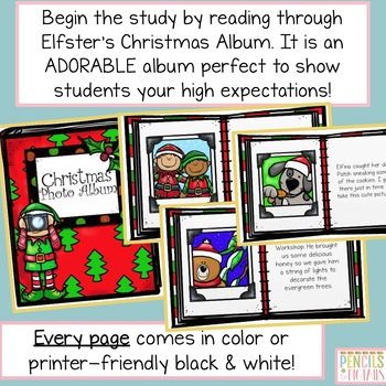 Christmas Photo Album - Differentiated ELA Writing Projects & Craft!