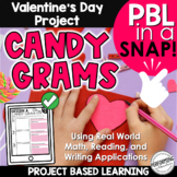 Valentine's Day Project Based Learning | Math and Writing