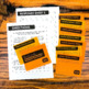 Reading Task Cards | Third Grade | Year Long | Editable | Use any book!