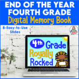 End of the Year Activity Fourth Grade Digital Memory Book