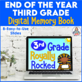 End of the Year Activity Third Grade Digital Memory Book