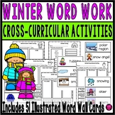 Winter Literacy and Spelling Activities - First and Second Grade