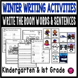 WINTER Write the Room Literacy Activities and Worksheets