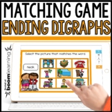 Ending Digraphs MATCHING  DIGITAL BOOM CARDS Distance Learning