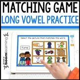 LONG VOWEL MATCHING DIGITAL BOOM CARDS Distance Learning