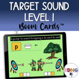 Phonemic Awareness Beginning and End Sound  | Boom Cards
