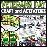 Veterans Day Activities Kindergarten and Grade 1