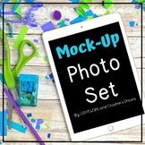 Blue, Lime and Purple Technology Mock-up Set
