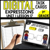 Writing Expressions DIGITAL TASK CARDS Module 1 Lesson 17