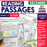 December Reading Passages - Christmas, Pearl Harbor, etc.
