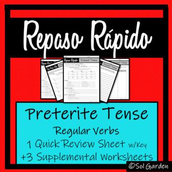 Spanish Preterite Tense Review - Repaso Rápido