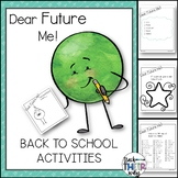 Back to School Activities | Dear Future Me Booklet