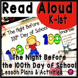100th Day of School Reading Activities: Kindergarten and First Grade Read Aloud