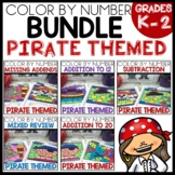 PIRATE Color by Number BUNDLE