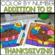 THANKSGIVING Color by Number BUNDLE