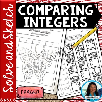 Comparing Integers Solve and Sketch Activity 6.NS.C.7