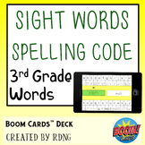 Sight Word Practice   Boom Cards Deck
