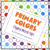 iPad Mock-up   Primary Colors Styled Images