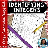 Identifying Integers Cross Curricular Cross Out 6.NS.C.5