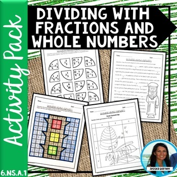 Dividing with Mixed Numbers Activity Pack 6.NS.A.1