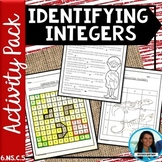 Identifying Integers Activity Pack 6.NS.C.5