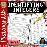 Identifying Integers Mistory Lib Activity 6.NS.C.5