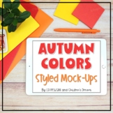 iPad Mock Up | Fall Colors Styled Images