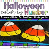 Halloween Color by Code Trace Numbers 1-20 Worksheets