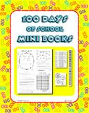 100 Days of School Mini Books ~ 100 Printable Books ~ Money - Sight Words - more