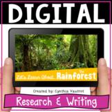 Rainforest Habitat | Digital Science Activities | Distance