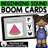 Beginning Sounds BOOM Cards for Preschool or Kindergarten
