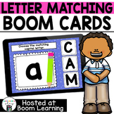Letter Matching BOOM Cards for Preschool or Kindergarten