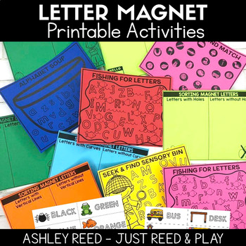 Magnetic Letter Alphabet Activities