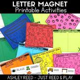Magnetic Letter Alphabet Activities