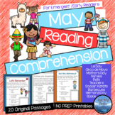 May Reading Comprehension Passages and Questions