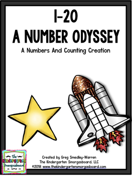 Numbers To 20!  1-20 A Number Odyssey!  A  Numbers To 20 C