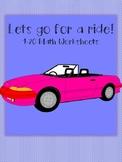 1-20 Car Worksheets