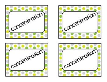 1-20 Concentration