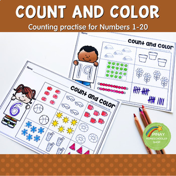 1-20 Count and Color Learning Activity