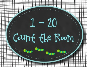 1 - 20 Count the Room ~ Chalkboard theme