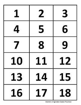 1-20 Counting Center