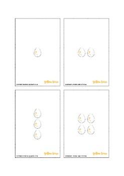 1-20 Dinosaur and Egg Cards